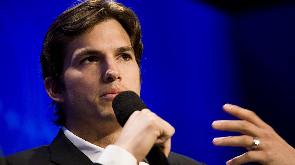 Ashton Kutcher is investing in MeaTech as part of a collective that also includes Guy Oseary, an Israeli-American talent manager and entrepreneur with whom he founded venture capital firm Sound Ventures. (Brian Harkin/Getty Images)