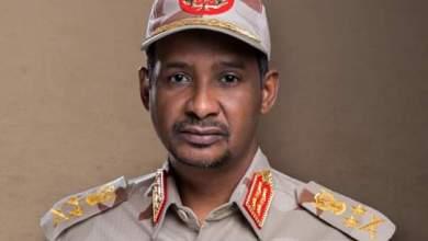 محمد حمدان دقلو نائب رئيس مجلس السيادة وقائد قوات الدعم السريع