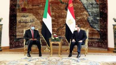 رئيس مجلس السيادة يختتم زيارة من يوم واحد لمصر