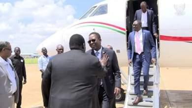 وصول الوفد الحكومي إلى جوبا برئاسة الفريق أول ركن شمس الدين كباشي