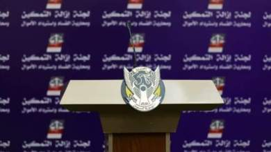 مؤتمر صحفي للجنة تفكيك نظام الثلاثين من يونيو في السابعة والنصف