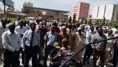 عمال سودانير يرفضون لجنة وزير النقل