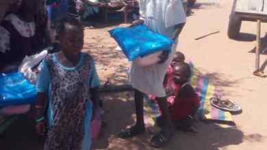 حكومة محلية ياسين بولاية شرق دارفور تقف علي اوضاع نازحي قريضة بمنطقة ملوي