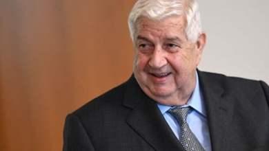 النظام السوري يعلن وفاة وزير خارجيته وليد المعلم