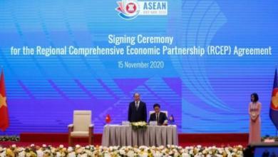 توقيع أكبر اتفاق للتجارة الحرة في العالم بدون الولايات المتحدة