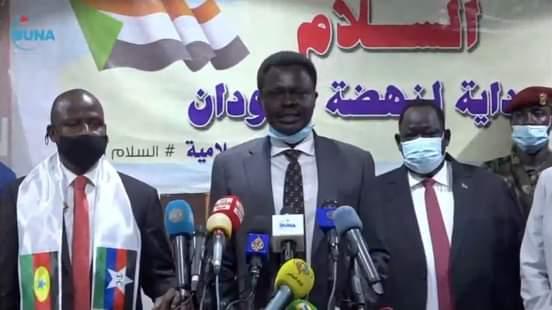 مناوي اتينا لترجمة اتفاق السلام في أرض الوافع