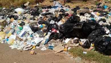 النفايات داخل مستشفيات ودمدني !!!