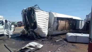 وفاة وإصابة (22) شخص في حادث مروري بكوستي