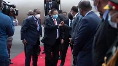 حمدوك يصل جيبوتي ليترأس قمة الإيقاد الاستثنائية