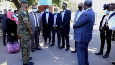 الفرقة الثانية مشاة بالقضارف تستقبل قافلة دعم واسناد القوات المسلحة