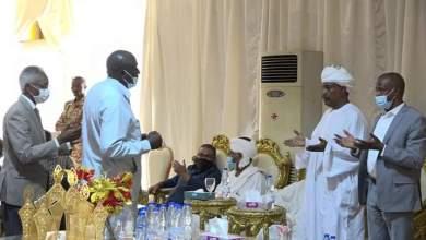 د. الهادي يتلقى التعازي من قادة الجهاز التنفيذي والاحزاب