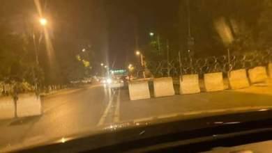 الجيش يغلق الطرق المؤدية إلى مُحيط قيادته العامة