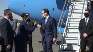 وزير الخزانة الامريكي يصل البلاد