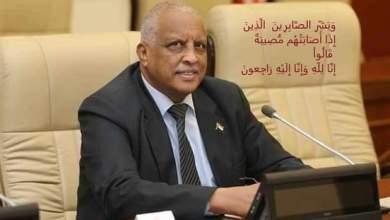 السفير الراحل / عمر حيدر