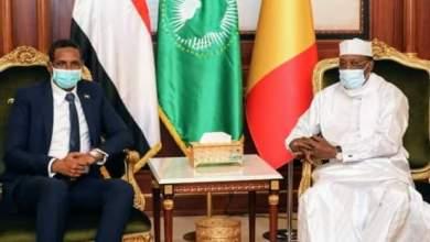 ديبي ودقلو يبحثان تعزيز التعاون المشترك بين السودان وتشاد