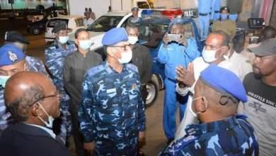 وزير الداخلية يتفقد ارتكازات وتوزيعات الشرطة بأم درمان