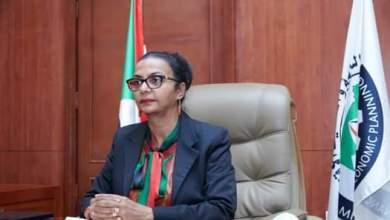دكتورة هبة محمد علي أحمد وزيرة المالية والتخطيط الاقتصادي المكلفة