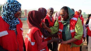 وصول وفد من جمعية الهلال الاحمر السوداني إلى ولاية جنوب كردفان