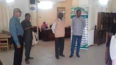 وفد الجمعية السودانية للمكتبات والمعلومات يصل إلى بربر