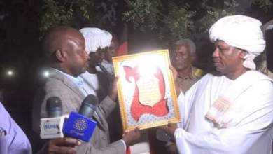 الهادي يلتقي قيادات الادارة الاهليه بمحلية برام بجنوب دارفور
