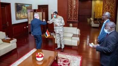 دقلو يناقش مع مبعوث الاتحاد الأوروبي التوترات بين السودان وإثيوبيا