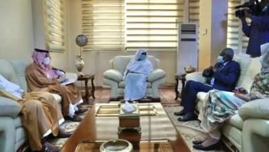 مريم الصادق تلتقي وزير الدولة للشؤون الأفريقية بالخارجية السعودية