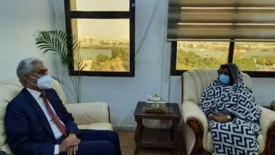 وزيـرة الخارجية تبحث التعاون بين السودان والإتحاد الأفريقي