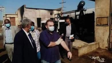 عاجل : أكثر من 91 مليون جنيه خسائر حريق شركة السجائر بمدني