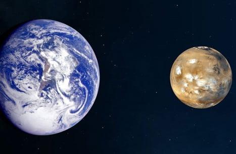 """ناسا"""" تنشر صوت ضربات ليزر مركبتها على صخور المريخ"""
