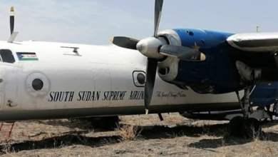 عاجل : 10 قتلى في تحطم طائرة جنوب السودان