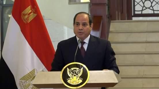 الرئيس المصري عبدالفتاح