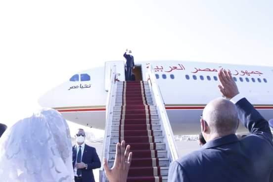 السيسي يختتم زيارته للبلاد بعد زيارة رسمية استغرقت يوما واحدا