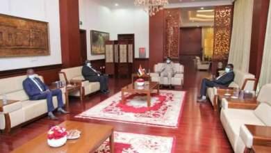 النائب الأول لرئيس مجلس السيادة يستقبل أعضاء المجلس الجدد