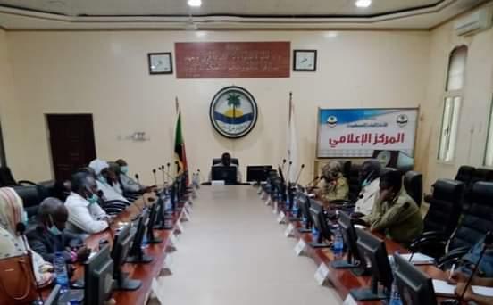 قافلة من نهر النيل دعما للقوات المسلحة