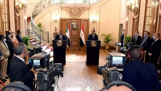 رئيس الوزراء السوداني : العلاقة بين مصر والسودان تقوم على اساس استراتيحي