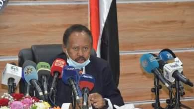 رئيس وزراء الحكومة الانتقالية د.عبدالله حمدوك،