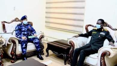 كباشي يعد بدعم الشرطة بكافة المستلزمات اللوجستية