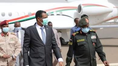 دقلو يعود للبلاد بعد زيارته لجنوب السودان