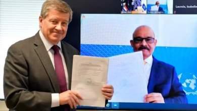 مندوب السودان الدائم بجنيف يودع صكوك مصادقة السودان على إتفاقيات منظمة العمل الدولية