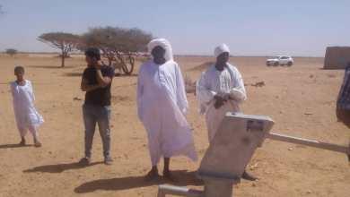 (سقيا السودان) تنفذ مشروعات مياه بقرى محلية المتمة