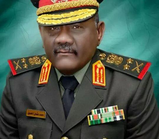 الفريق أول ركن محمد عثمان الحسين رئيس هيئة الأركان للقوات المسلحة