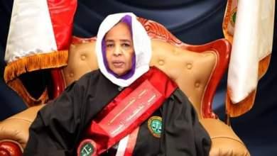 مولانا - نعمات عبد الله محمد خير رئيس القضاء