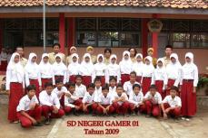 siswa kelas VI 2008-2009
