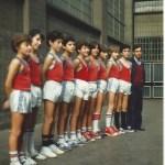 1980-81. Maristas El Salvador alevín .