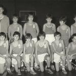 1980-81. Maristas benjamín campeón liga y PIN