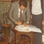 1981 29 sep Presentacion Satecma (a)