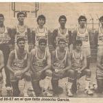 1986-87 PATRO Viland TV 2ª div Correo 1986 09 10