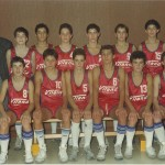 1986-87. Maristas infantil campeón de Euskadi