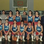 1988-89. PATRO Maristas juvenil campeón liga y copa 3º Euskadi