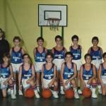 1989-90. MARISTAS premini campeón liga 4º Egb